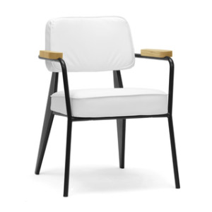 white branded modern accent chairs