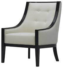 white modern accent chairs